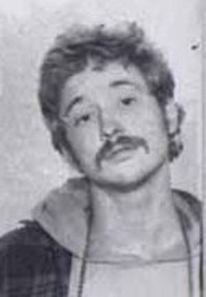 Bill Ayers' booking photo taken in 1968 by the Chicago Police Dept.