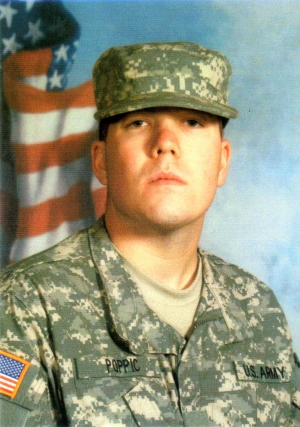 Army Private First Class George T. Poppic III