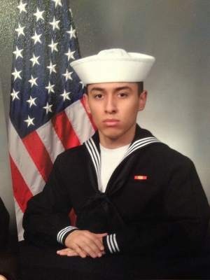 Fireman 3rd Class Petty Officer Ryan Calderon