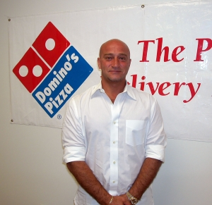 Sam Hishmeh is the owner of the Domino's Pizza Franchise in Fillmore.