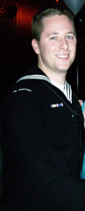 United States Navy Electrician Mate Second Class William Foster Stationed in Groton, Connecticut.