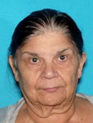 Missing Person: Bertha Zermeno DeLara, 73, Fillmore.