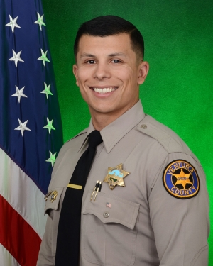 2019 Deputy of the Year Diego Estrada