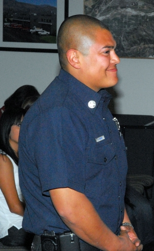 Billy Gabriel was announced as the new Fillmore Fire Department Captain at Tuesday night's council meeting.