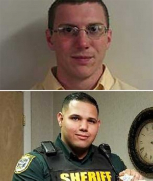 (above) Deputy Taylor Lindsey and Sgt. Noel Ramirez.