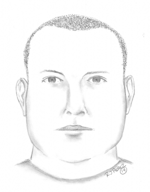 "Suspect #2 is described as a white male, 5' 10"" to 6' 00"", between the ages of 25 and 35, wearing all black clothing."