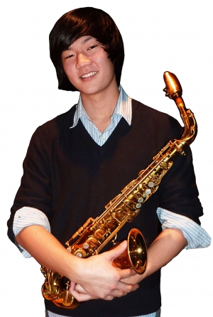 Christian Choh, winner of the 2010 VMF student Jazz competition. Photo by James Lee Needham.