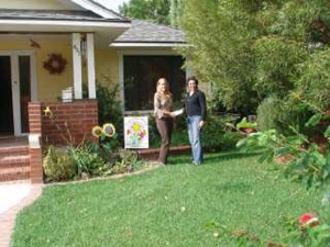 Janet and John Foy's Yard of the Month.