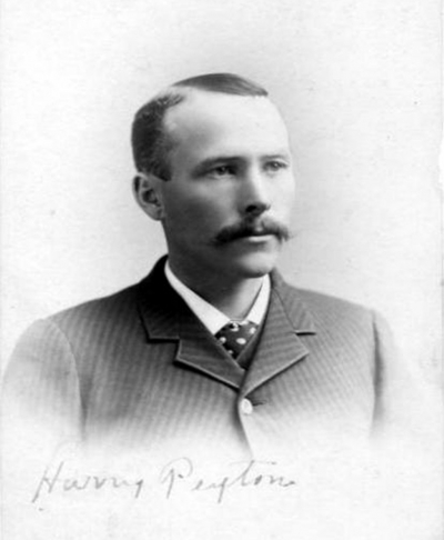 Harry Peyton, who first began working at Rancho Camulos and built water tanks in Piru.