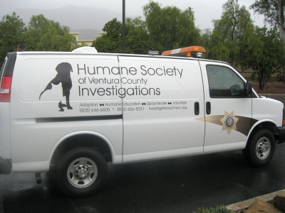 The Humane Society of Ventura County's new investigations van is designed to provide maximum safety and comfort for rescued animals.
