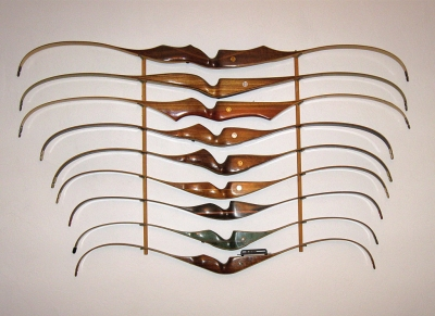 Recurves Archery Bows: Richard Flores Collection, Archery Bows – 1940 to Current