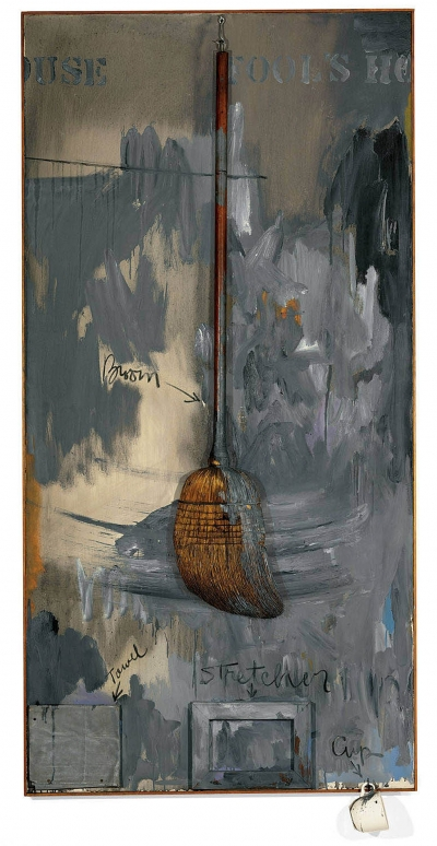 "Jasper Johns - ""Fools House"": Anonymous Collector, American Art"