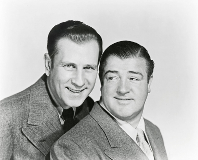 Bud Abbott and Lou Costello – David Mason Collection