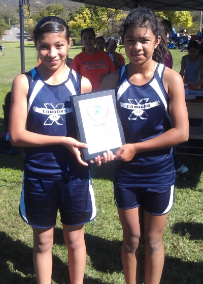 (Youth Girls) (l-r) Marisol Martinez, Luz Ruiz and not pictured Eden Hahn