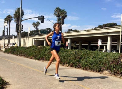 Lupita Perez at Seaside Invitational