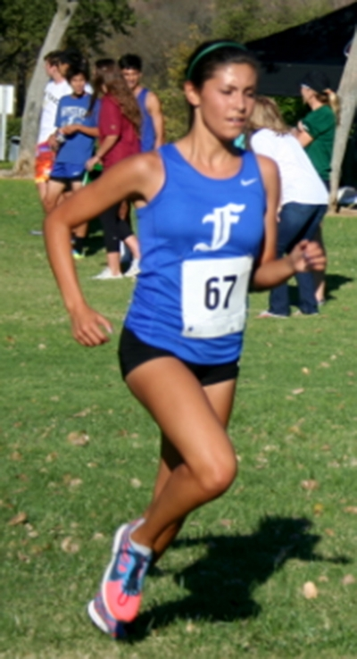 Senior Kiana Hope led the Lady Flashes at Oak Canyon Park in their second league meet of the season.