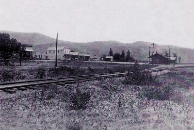West of the depot before there was Fillmore City Park.