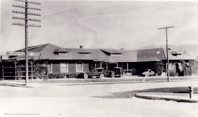 The Bungalow Inn on Santa Clara Street built in 1911. It had 20 rooms for many who traveled through Fillmore.