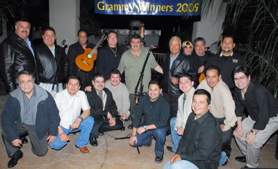 Mariachi Los Camperos celebrated its 2009 Grammy Award with a concert at El Pescador Restaurant.