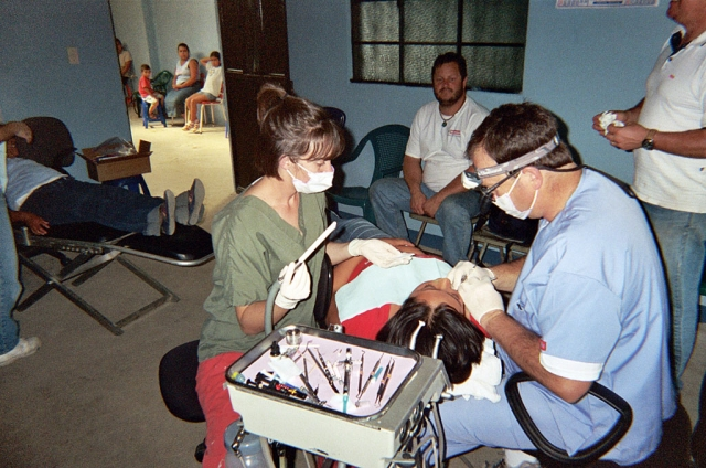 Fillmore dentist Dr. Mark Pratt and his daughter Kristyn, a Cal State Northridge student of speech pathology, recently returned from the village of Zacualpa, Guatemala, where they administered urgently needed dental care to its inhabitants and those of the remote Mayan village of Turbala.
