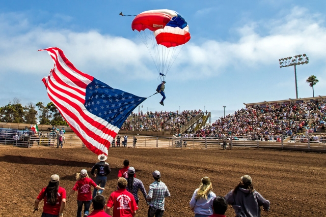 The 2014 Ventura County Fair Rodeo was full of thrills and spills this year. Following are the rodeo results: