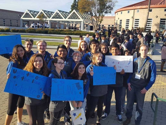 Saturday February 4th, the Fillmore High School Acadeca Team competed this past weekend in the 2017 Ventura County Academic Decathlon Championship held at Pacifica High School Gym. They competed in 7 rigorous subject exams based on World War II and give a prepared speech, impromptu speech and interview.