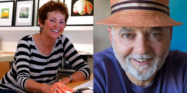Cindy Pitou Burton and Brian Berman will be this year's distinguished judges. Brian Berman photo by photographer David Baker.