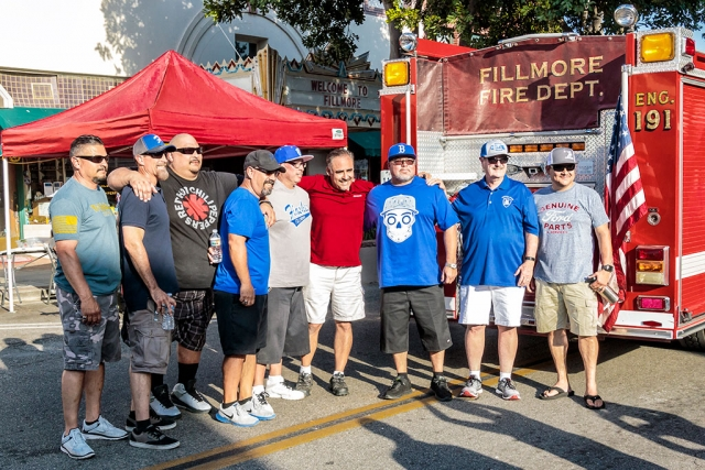 Members of the 1988 CIF Champions Baseball Team who also road in the victory parade.