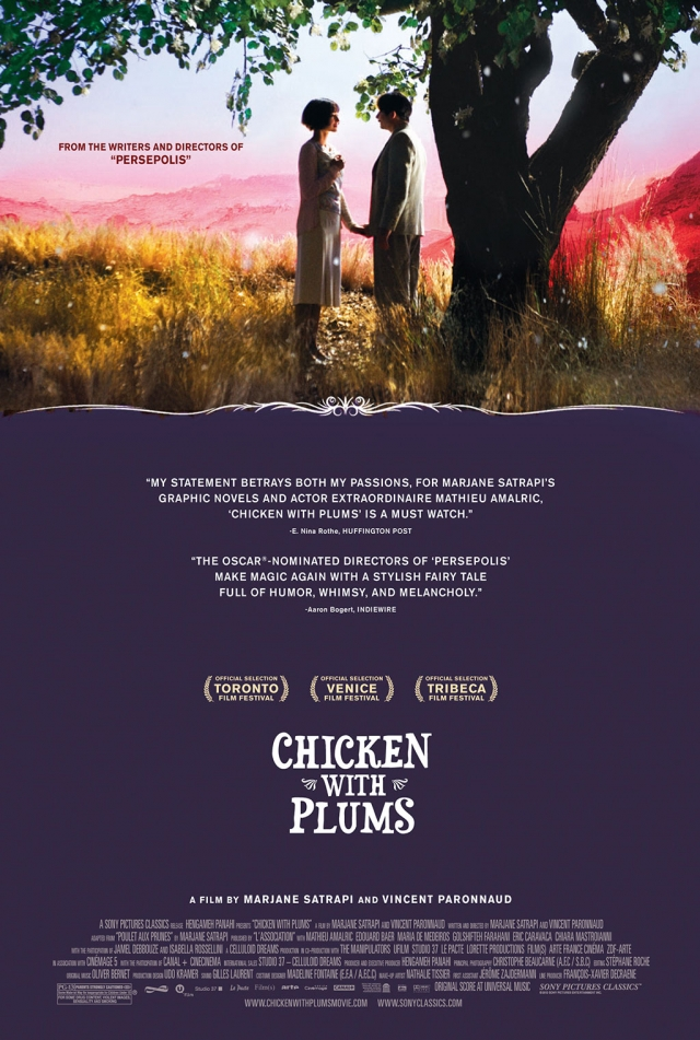 "Poster for ""Chicken with Plums"""