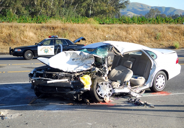 A head-on collision resulted in a double fatality on Friday, May 30th at approximately 4 p.m. on highway 126, just east of Old Telegraph Road. Kenneth Nemson, 58, of Elk Grove and Henry Charles Farner, 22, of Fillmore were both killed in the accident.