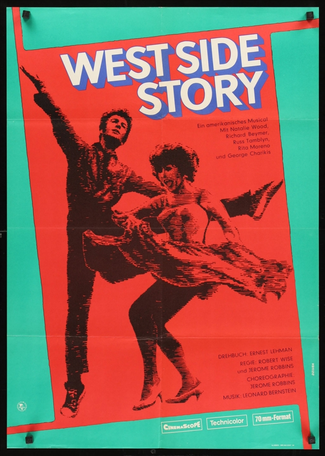 "East German poster for ""West Side Story"""