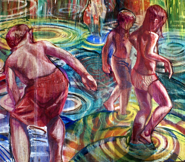 """Deluge"" by Cathy Day Barroca is one of the pieces that will be on exhibit at the Ventura College Art Faculty Exhibit."