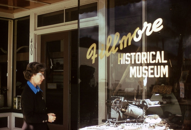 The Fillmore Historical Museum at 400 Central Avenue.