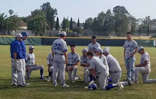 Pictured above is Coach Suttle and the team huddling after a tough loss to St. Bonaventure this past Thursday. With an overall high record season and a high strength of schedule, the Flashes were selected for an At Large bid for the 2018 Division 7 Playoffs. The first round will be on May 18th 3:15pm at Newbury Park Adventist High School.