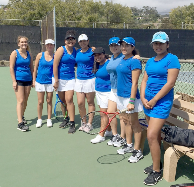 Pictured above is the FHS Girls Tennis Team after their first match of the 2018 season away at Province High School. Photo courtesy Head Coach Lolita Wyche-Bowman.