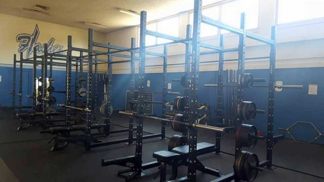 The Fillmore High School weight room had improvements made over the summer, and is ready for our FHS athletes for the upcoming 2017/18 school year. The goal for the new set up is to allow athletes the space for full range of motion, functional lifts that are sports specific. Our athletes will be able to generate more power over an extended range of motion. This translates to more force and speed—a deadly combination.