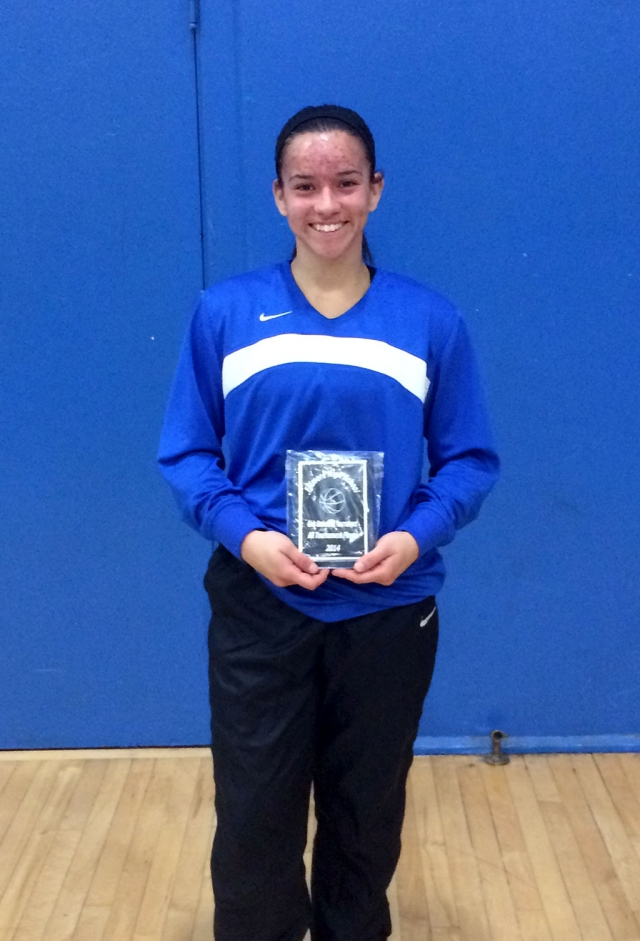 Senior Hannah Vasquez received the All Tournament Award at The Jolene Stethem Tournament for the Lady Flashes early this December. Hannah is a Captain for the Lady Flashes, a four year player and the starting point guard. Her leadership and dedication to the sport has been an integral part to her team. Congratulations Hannah on a fine performance at the Fillmore Tournament. The Lady Flashes will open with the first league game on January 6th against Foothill Technology. Go Flashes!