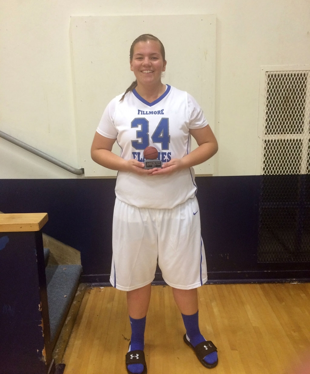 Freshman Sydnee Isom was the Varsity All Tournament Player at the Nordhoff Tournament this past week for the Lady Flashes Varsity Girls Basketball Team.