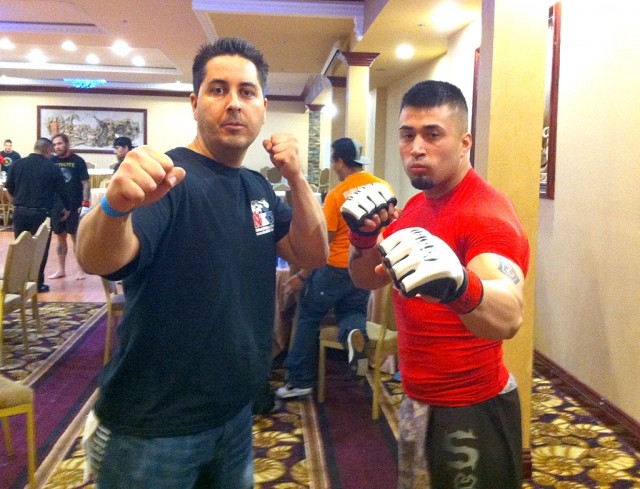 "(l-r) Coach Eric ""Killa"" Escoto and Jose ""Chepe"" Lira)"
