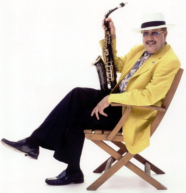 Nine-time Grammy Award winner Paquito D'Rivera.