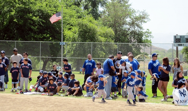 This past weekend Piru Youth Sports Baseball held closing ceremonies at Warring Park.