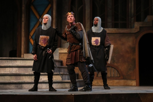 Jason McBeth as Richard (center). Photo by Brian Stethem