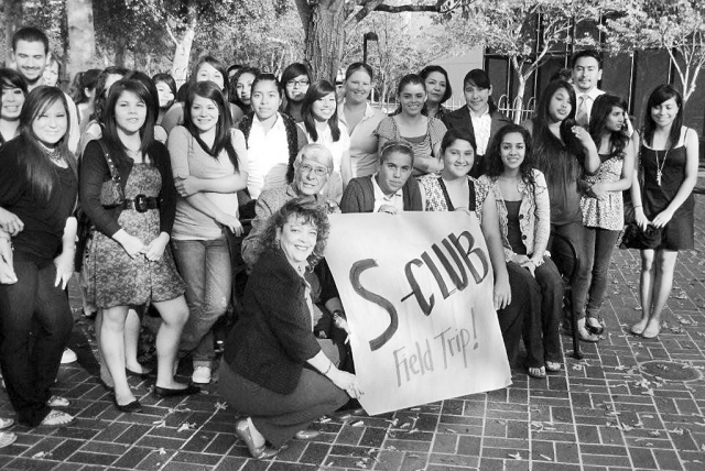"The ""S"" Club attended a human trafficking documentary screening at the Thousand Oaks Library."