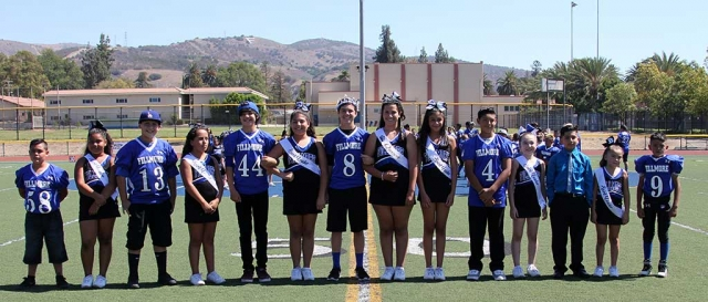 This past Saturday September 17th, SoCal Fillmore Bears hosted their Homecoming. Pictured above is the Bears 2016 Homecoming court. Photos by Crystal Gurrola.