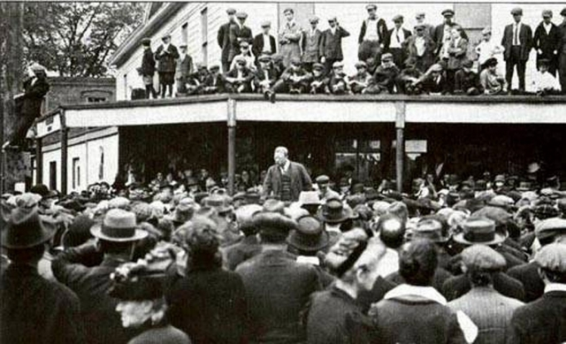 Theodore Roosevelt's ideas on Immigrants and being an AMERICAN in 1907