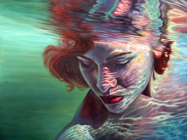 "Image: ""Transcendence"", oil on canvas, Best of Show, Erika Craig"
