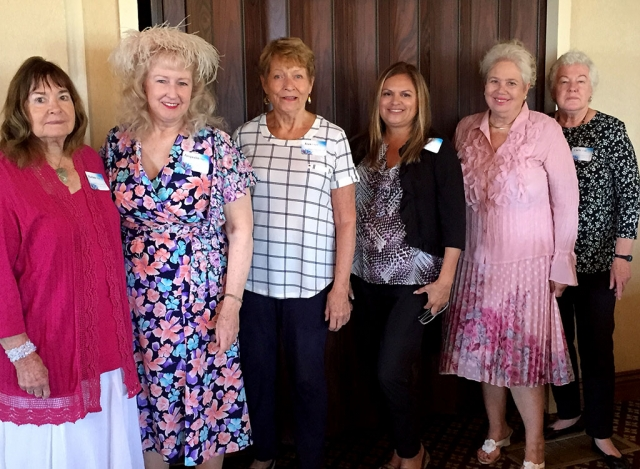 Pictured above is the Ventura County Garden Club new officers for the 2018-2019 year, which were welcomed at their Installation luncheon held June 6th at Saticoy Country Club in Somis. Photo courtesy Jacqualin Starr.