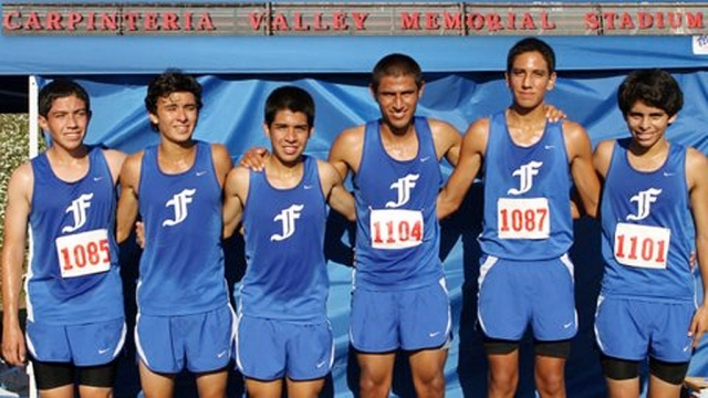TVL # Varsity Boys (l-r) Nicolas Frias, Jose Almaguer, Adrian Mejia, Hugo Valdovinos, Isaac Gomez and Anthony