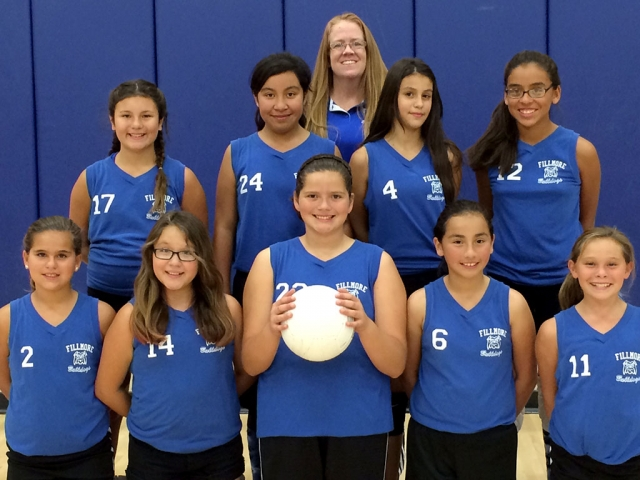 Congratulations to Lady Bulldogs Volleyball on a great season. Pictured is the 6th grade team.