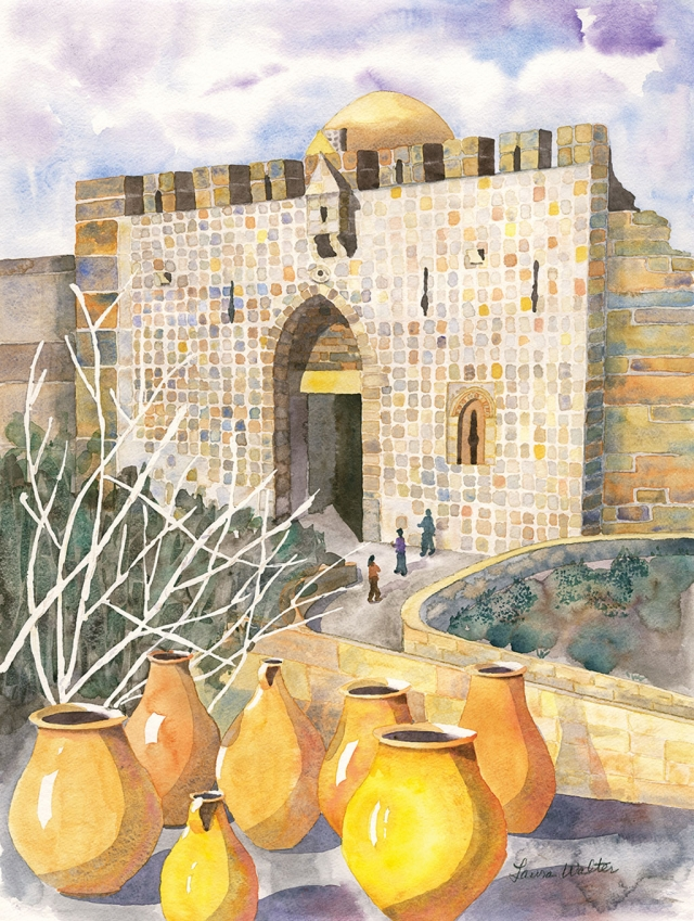 """Zion Gate"" by Laura Walter"